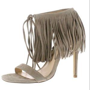 New Steve Madden Womens Suede Tassel Stilettos